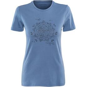 Schöffel Zug2 Naiset Lyhythihainen paita , sininen